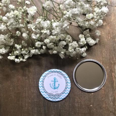 espejo personalizado boda marinera
