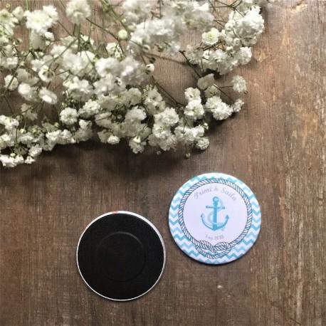 chapa o imán boda marinera